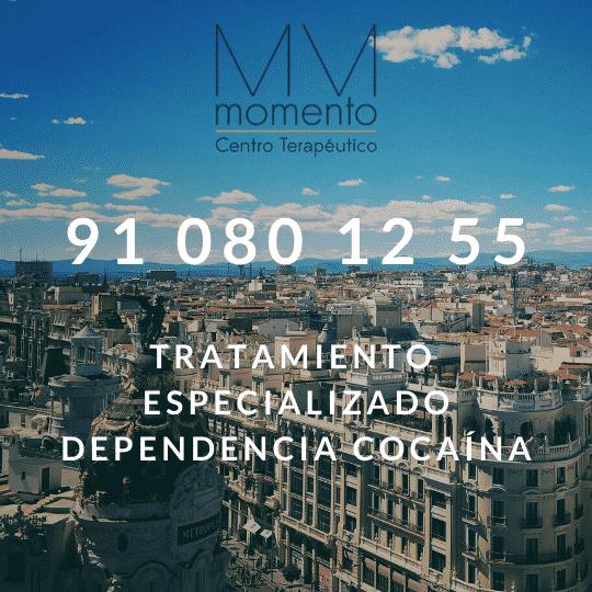 Tratamiento de Adicción a la cocaína Madrid